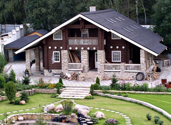 Планирование коттеджа Arnold-Prize: недвижимость Украины